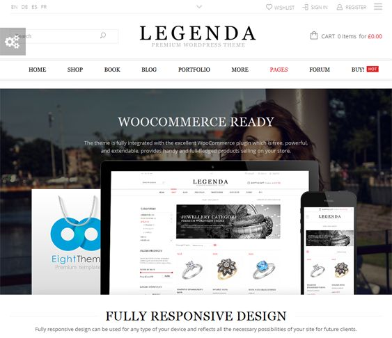 22 best 22 of the Best Minimal Ecommerce WordPress Themes images on ...