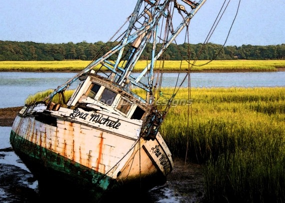194 best trawlers images on pinterest fishing boats for Hilton head fishing party boat