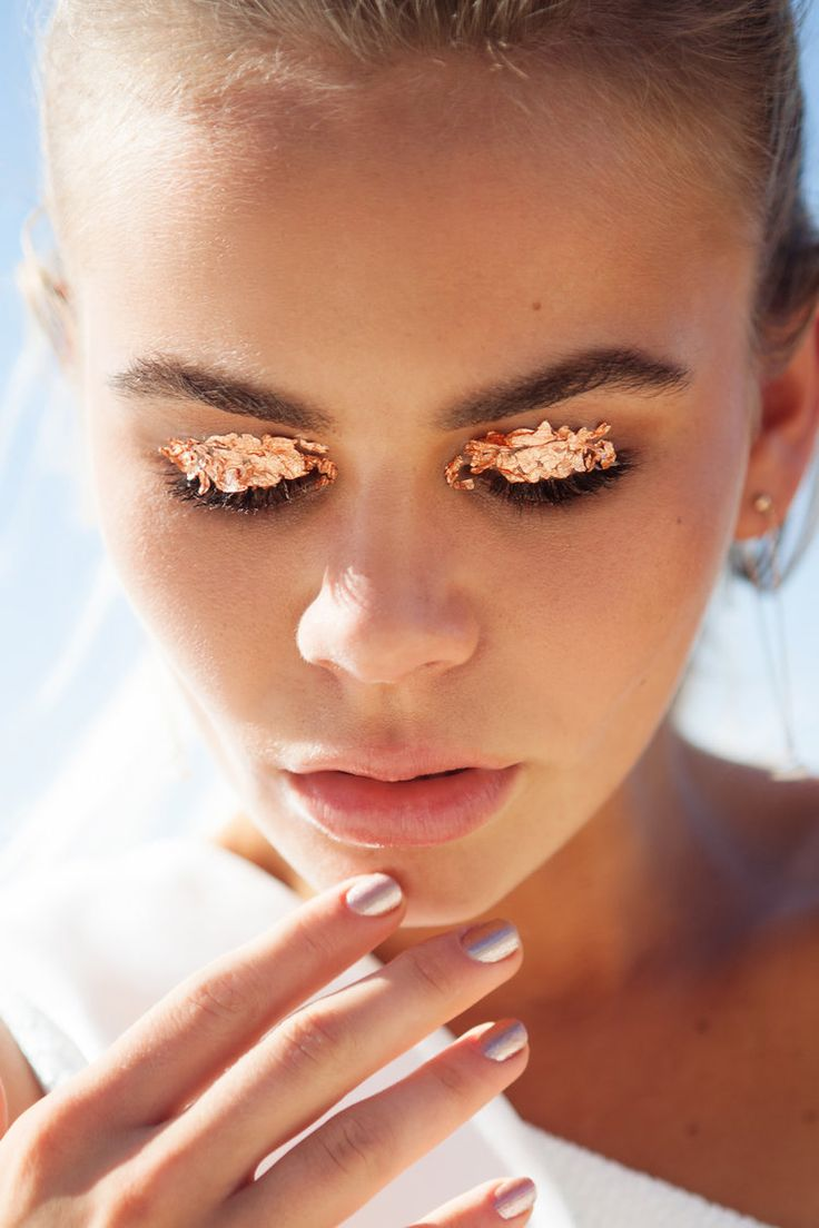 Million Dollar Lids Makeup by Racquet Studio's Hope O'Connor