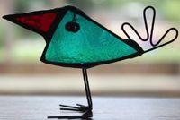 Big + Little Houses - Glass Art