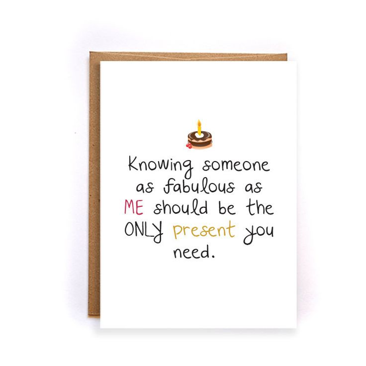 Funny Happy birthday cards for boyfriend, sarcastic birthday cards for wife, birthday gifts for best friend, gift idea funny, handmade GC141 by NirvanaDesignsGifts on Etsy