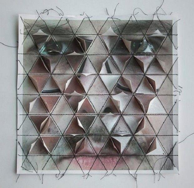Crumbled Faces par Aldo Tolino