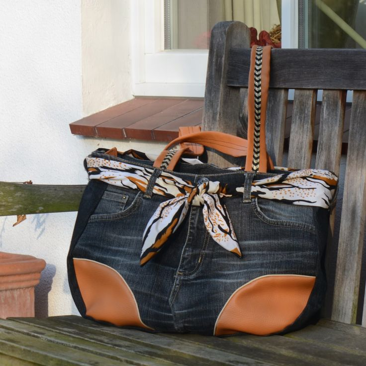 SaMari Design : Schnabelina Jeans Bag