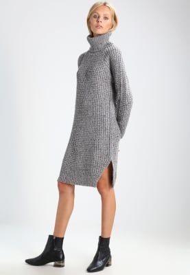 Gsus Gebreide jurk - heather grey - Zalando.nl