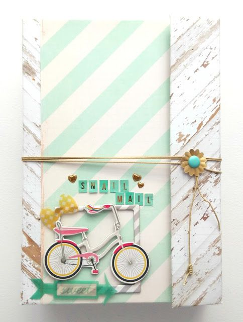 SNAIL MAIL con carpeta y cartera interior