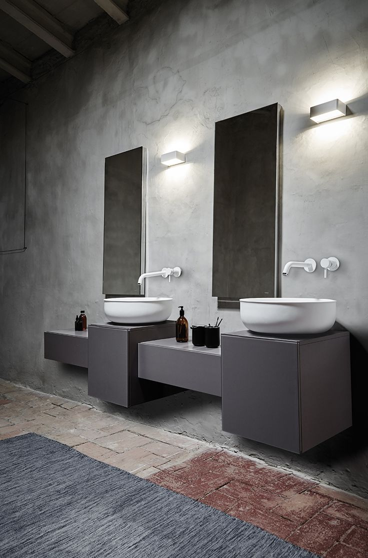 The inspiration for the pieces comes from antique metal #bathtubs and #sinks.  #ideas #design #interiordesign #homedecor #washbasin #funiture