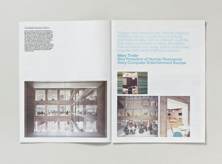 Newspaper Designed For Interior Designers And Architects MoreySmith In Celebration Of Fifteen Years Business