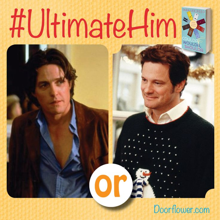 Which guy would you rather write about in your diary? Daniel Cleaver or Marc Darcy? (Bridget Jones's Diary. (Check the board for even more Best Boyfriend match ups from Doorflower /Coulda Woulda Shoulda!) #bookboyfriends #amreading