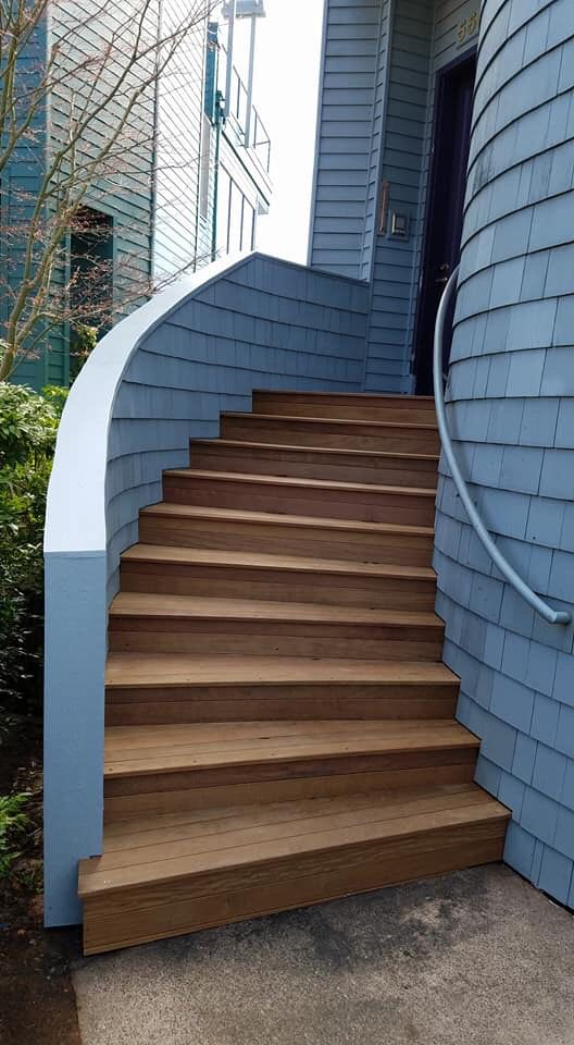 Best Residential Exteriors Image By Abhcontractors Staircase 640 x 480