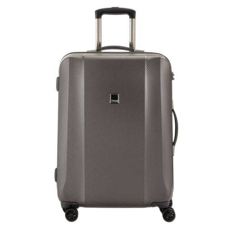 Mittlerer #Reisekoffer TITAN Xenon Deluxe bei Koffermarkt: ✓ braun ✓4 Rollen ✓80 l Volumen ✓67x46x28 cm