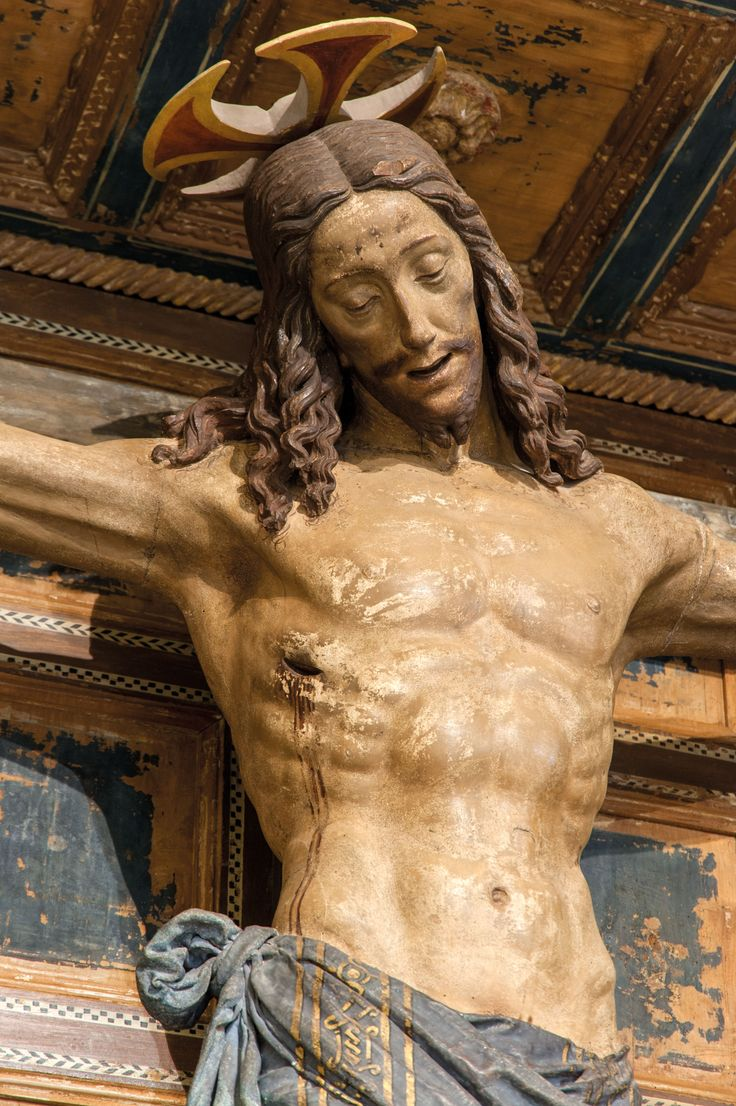 Cristo Crocifisso inizio sec. XVI, Ancarano, Chiesa della Madonna Bianca