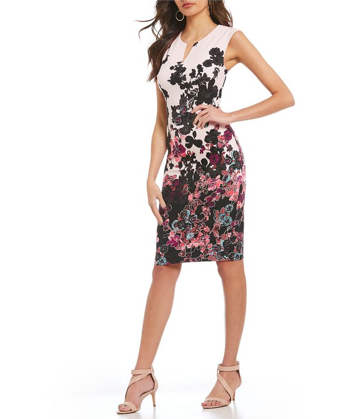 Shop for Adrianna Papell Floral Sheath Dress at Dillards.com. Visit Dillards.com to find clothing, accessories, shoes, cosmetics & more. The Style of Your Life.