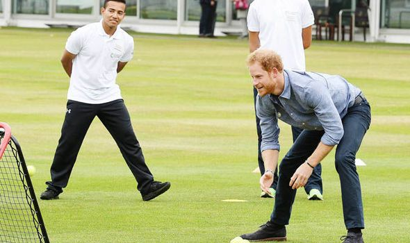 Prince Harry visits Lords cricket ground to encourage teens to become sports coaches | Royal | News | Daily Express