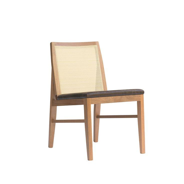 Cadeira Trama sem braços | Fernando Jaeger