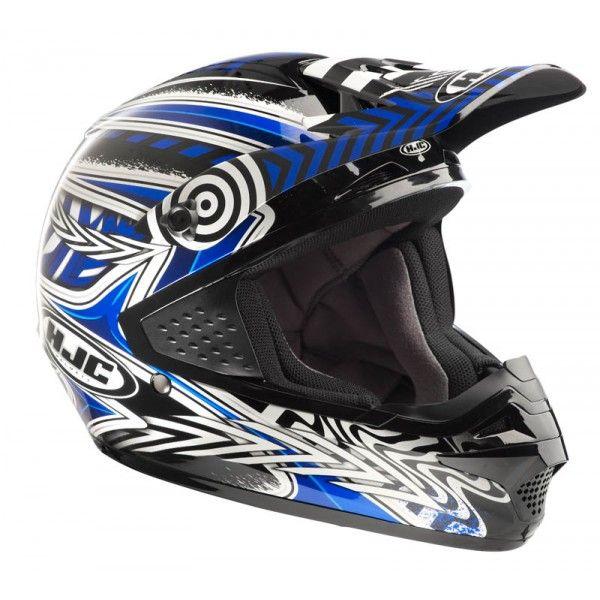 Casque HJC CSMX charge Mc2 - Speedway #speedwayfr #speed #france #moto #casque #blue #bleu #casques #cross