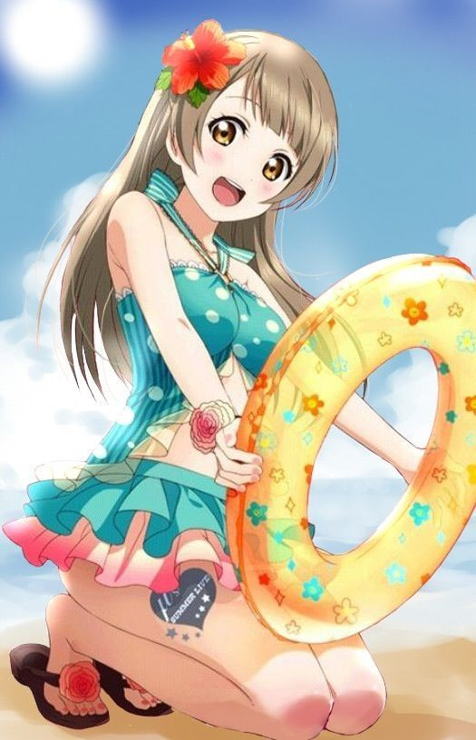 807 best love live images on pinterest anime girls idol - Beach anime girl ...