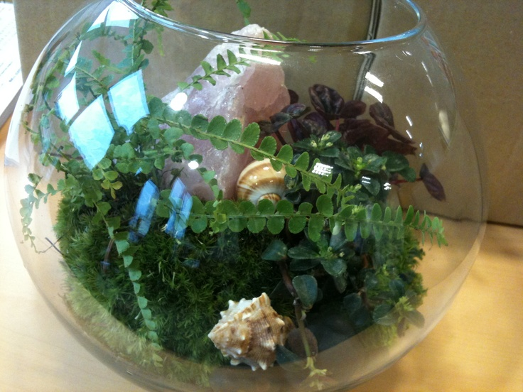 Roger & Gallet Terrarium for fragrance launch