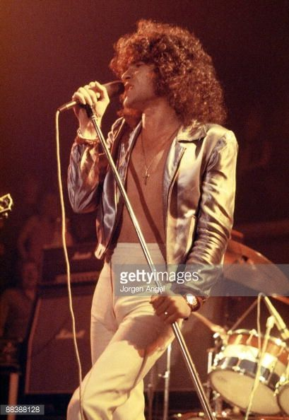Nazareth Band~ Dan McCafferty of the Scottish rock band Nazareth performs on stage ...
