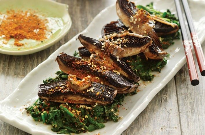 seafood forward shichimi tuna with wasabi creme shichimi tuna with ...