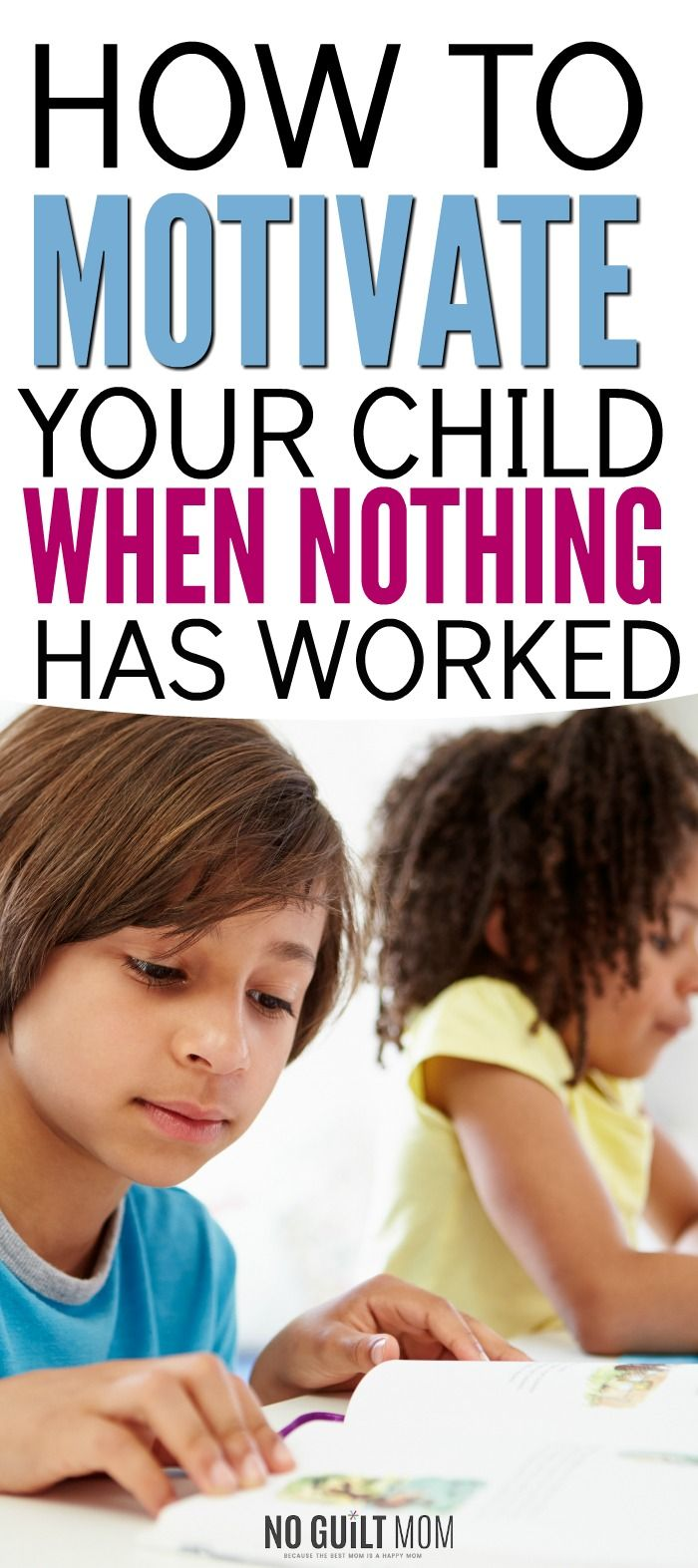 What if I told you that most people motivate kids completely wrong?  These motivating children tips work perfectly if you feel as if you're parenting a lazy child.  Includes 4 actionable ways you can immediately use to create internally motivated children.