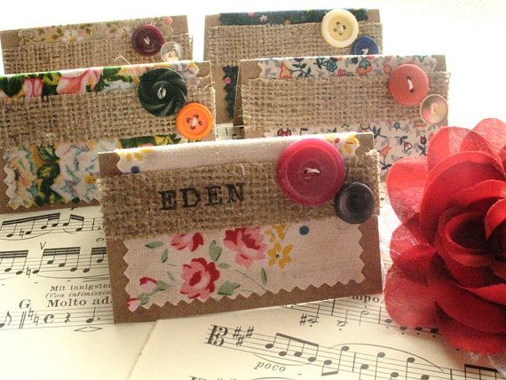 Place cards for wedding or any occasion