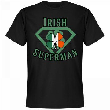 Irish Superman | BlueRose Creations - Customized Girl