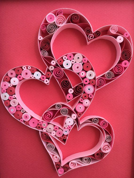 Quilled paper art: 3CUORE quilling-handmade by MyHomeMyRules