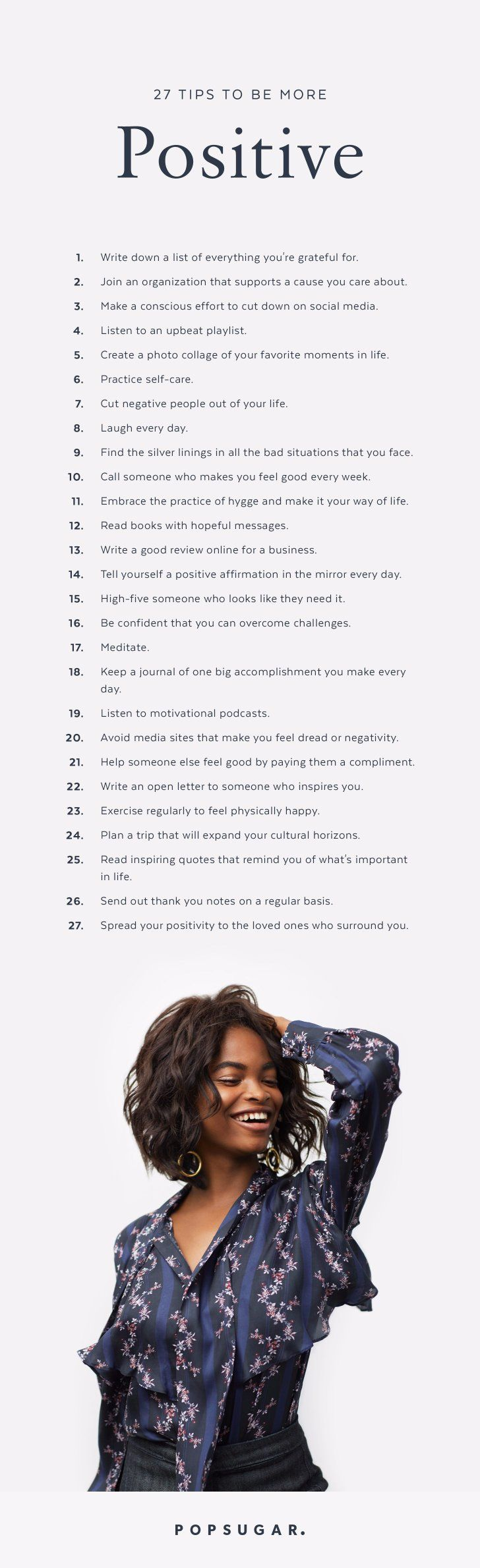 This is such a great reminder. I love this post! Check out these 27 tips + tricks to STAY POSITIVE this year to help boost your productivity and happiness!