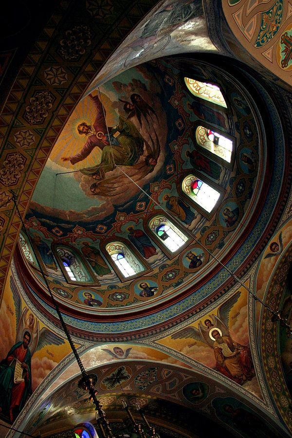 Orthodox church, Vilkovo #orthodox #christianity