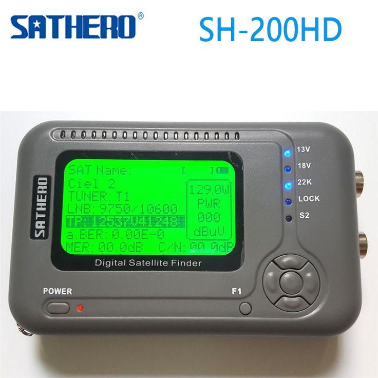 >> Click to Buy << [Genuine] Sathero SH-200HD DVB-S2 Digital Satellite Finder Meter Sat Finder 200HD High Definition USB 2.0 Spectrum analyzer #Affiliate