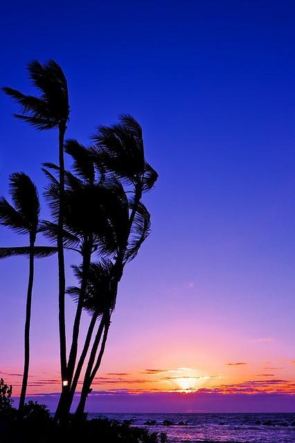 Keauhou Sunset, Hawaii