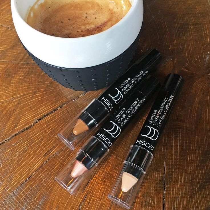 Bring out your inner artist with the new CCC – contour, cover, conceal stick #GOSHCOPENHAGEN #BEAUTIFULYOU #MAKEYOURIMPRESSION #SS17 #NEWS #VIEW #CONTOUR #CONCEALER #HIGHLIGHTER #COFFEE