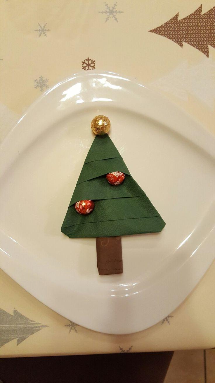 servietten falten tannenbaum에 관한 상위 25개 이상의 pinterest ... - Weihnachtsservietten Falten