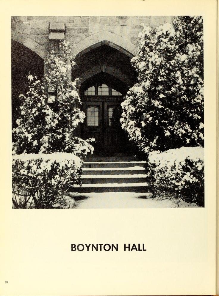 Boynton Hall 1960