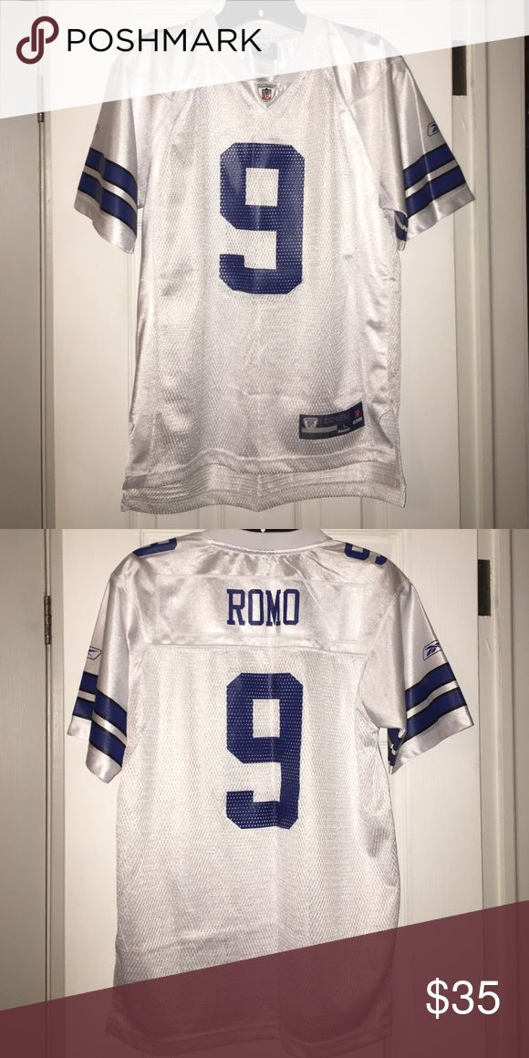 Dallas Cowboys Tony Romo Jersey White Tony Romo Dallas Cowboys NFL Jersey. Only worn once. Perfect condition! Reebok Other
