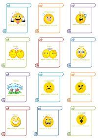 FREE Charades cards & free template to add your own personal cards. Organized by topics: Emotions, animals, activities, easy fun, music, food etc.