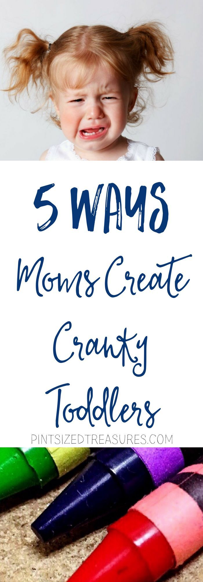 It took my several months to figure out that my mothering style was actually creating a cranky toddler. I had to change. I had to choose to face the music and realize that I didn't have to mother a cranky toddler --- I could create a happy one! Are you creating a cranky toddler? Find out!
