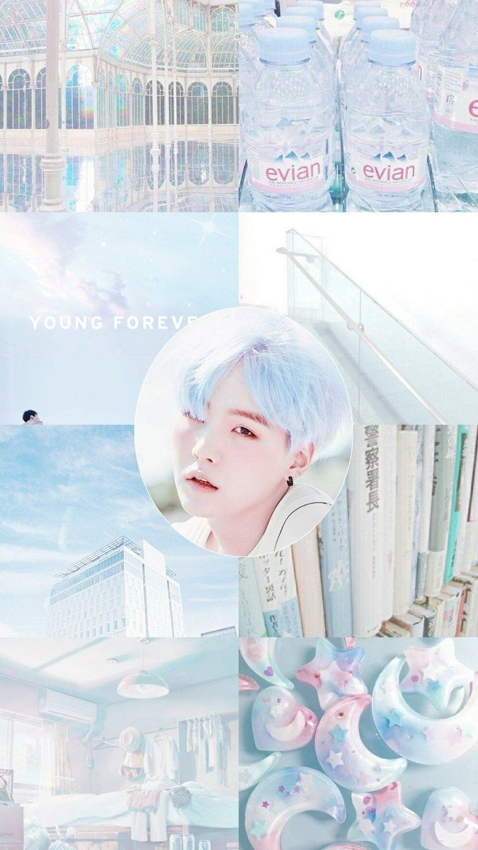 Yoongi Pastel Wallpaper Taehwaffle Embedded In 2019