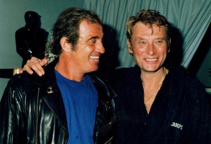 363 best images about celebs jean paul belmondo on for Dujardin hallyday