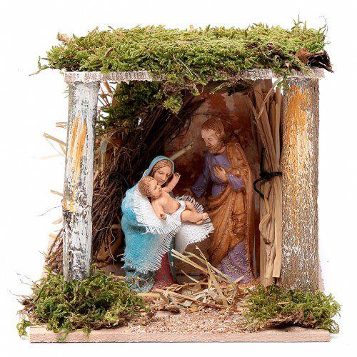 Natividad clásica 10 cm enMovimiento Moranduzzo | venta online en HOLYART