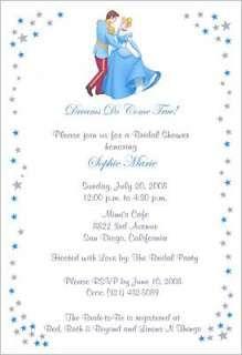 Cinderella Bridal Shower Invitations Wedding Supplies
