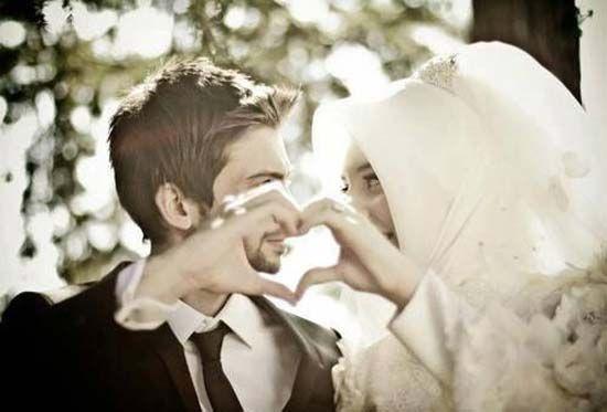 Aranyos és romantikus muzulmán párok