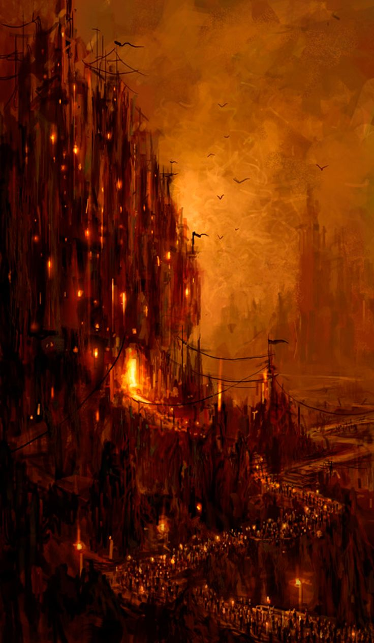 Abismo. Su belleza que ronda este mundo siempre está impregnada de un toque de caos y maldad.