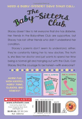 The Truth About Stacey (The Baby-Sitters Club, No.3)