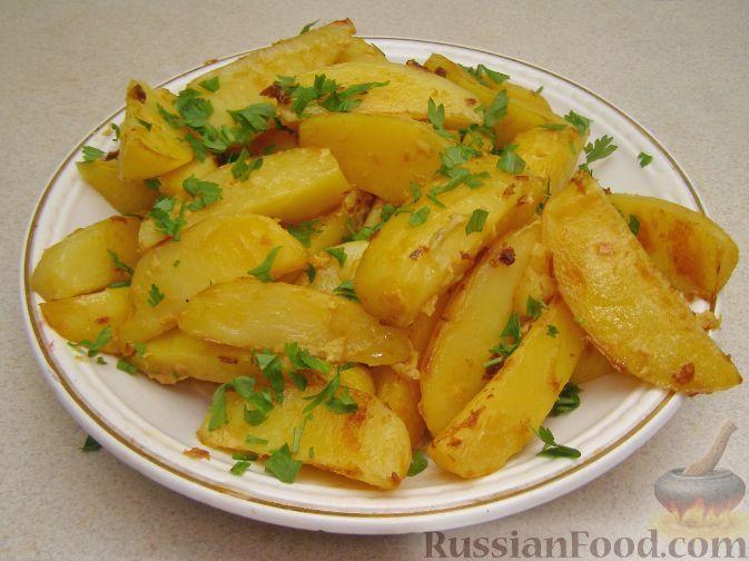 Фото приготовления рецепта: Картофель, запеченный в горчице - шаг №5