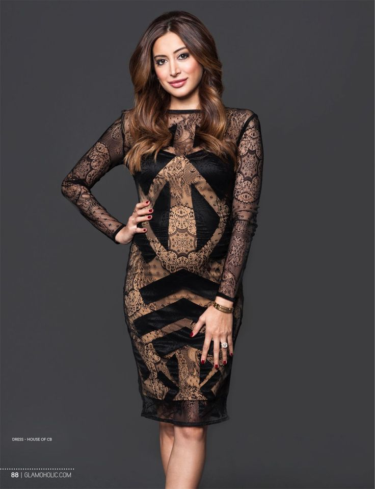 Noureen DeWulf.. House of CB dress..