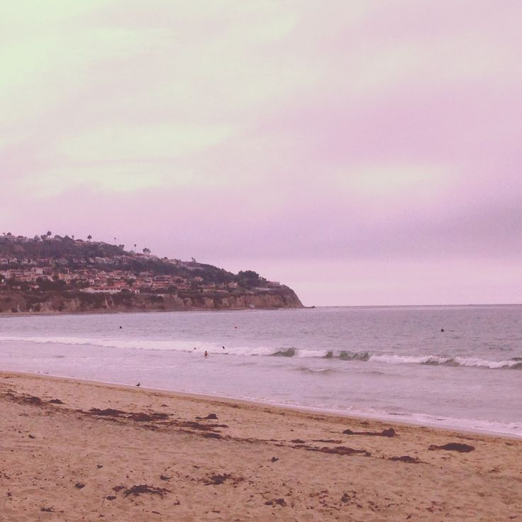 The ocean. Los Angeles, California.  July, 2013.