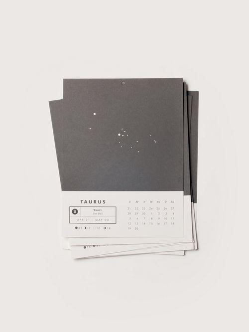 Calendar Horoscope Stars Constellation