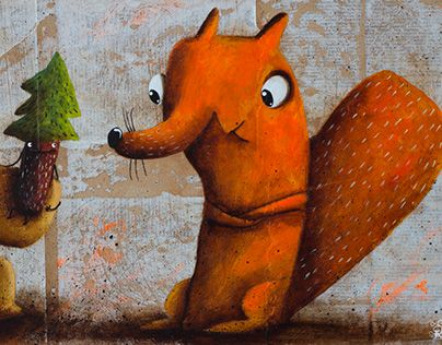 """Check out new work on my @Behance portfolio: """"!!!NEWS - Wunderbaum"""" http://be.net/gallery/59152741/NEWS-Wunderbaum"""