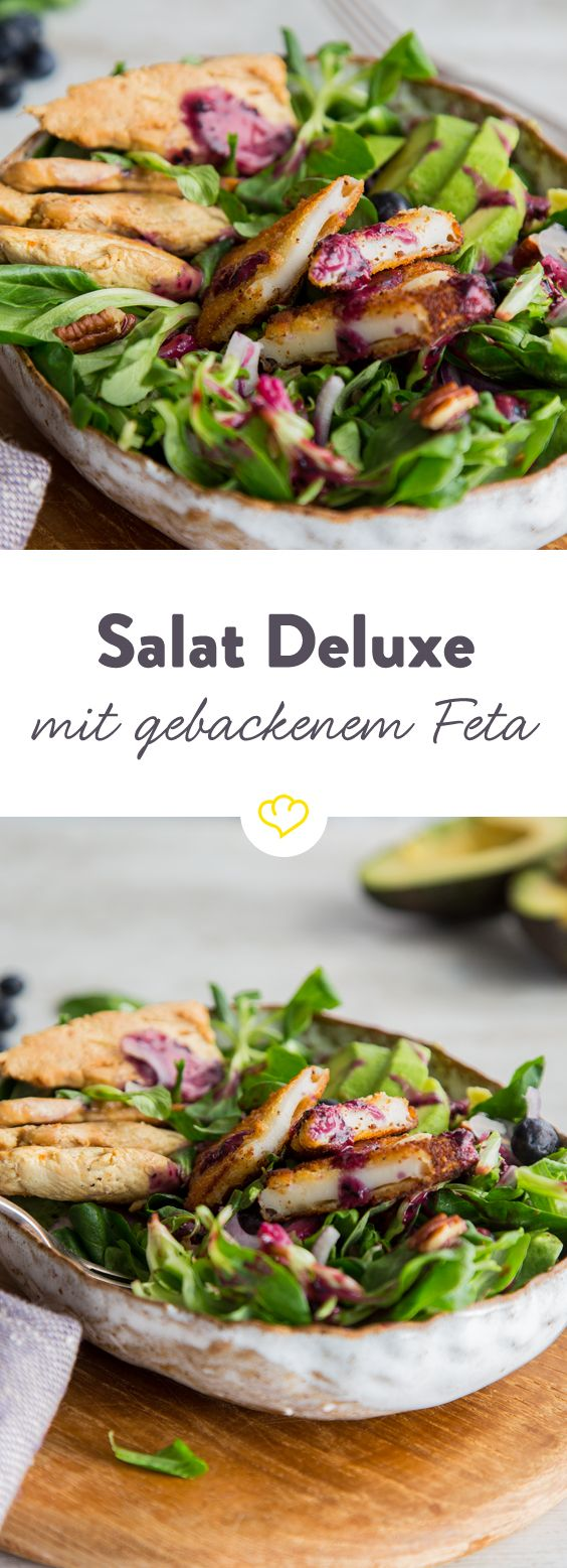 Dieser Salat ist keine Beilage! Dieser Salat kommt in der großen Schüssel daher, mit Sattmacher-Goodies und frischen Zutaten. Dies ist ein Feierabend-Salat!
